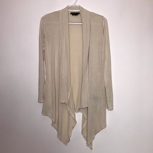 BCBGMaxAzria Open Front Long Sleeve Cardigan